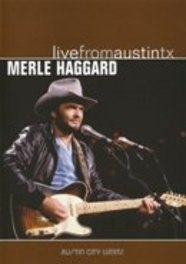 LIVE FROM AUSTIN, TX RECORDED OCTOBER 30, 1985 DVD, MERLE HAGGARD, DVD