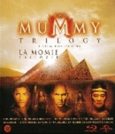 Mummy trilogy, (Blu-Ray) BILINGUAL // W/ BRENDON FRASER MOVIE, BLURAY
