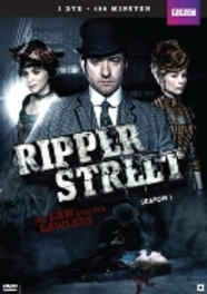 Ripper street - Seizoen 1, (DVD) CAST: MATTHEW MACFADYEN, JEROME FLYNN TV SERIES, DVD