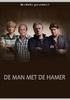 Man met de hamer, (DVD) PAL/REGION 2 // W/ JEROEN EN MARTIJN KRABBE