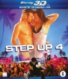 Step up 4 (2D+3D), (Blu-Ray) CAST: KATHRYN MCCORMICK, RYAN GUZMAN MOVIE, BLURAY
