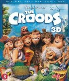 Croods 3D, (Blu-Ray) 3D+2D COMBO INCL.DVD // V/ NICOLAS CAGE,RYAN REYNOLDS ANIMATION, BLURAY