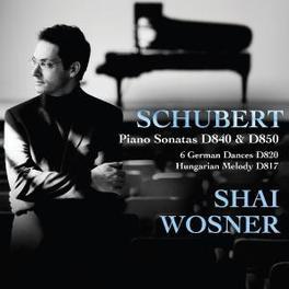 PIANO SONATAS D840 & D85 SHAI WOSNER F. SCHUBERT, CD