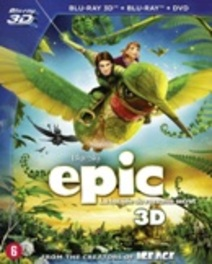 Epic 3D, (Blu-Ray) BILINGUAL - 2D+3D BLU-RAY + DVD ANIMATION, BLURAY