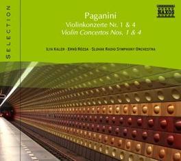 VIOLIN CONCERTOS SRSO/ROZSA N. PAGANINI, CD