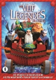 Rise of the guardians - Christmas edition, (DVD) .. CHRISTMAS EDITION - BILINGUAL ANIMATION, DVDNL