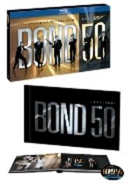 James Bond box - Celebrating 5 decades, (Blu-Ray) BILINGUAL/50TH ANNIVERSARY/INCL.ALL 22 JAMES BOND FILMS JAMES BOND, Blu-Ray