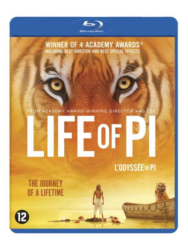Life of Pi, (Blu-Ray) BILINGUAL // BY ANG LEE /CAST: SURAJ SHARMA Martel, Yann, BLURAY