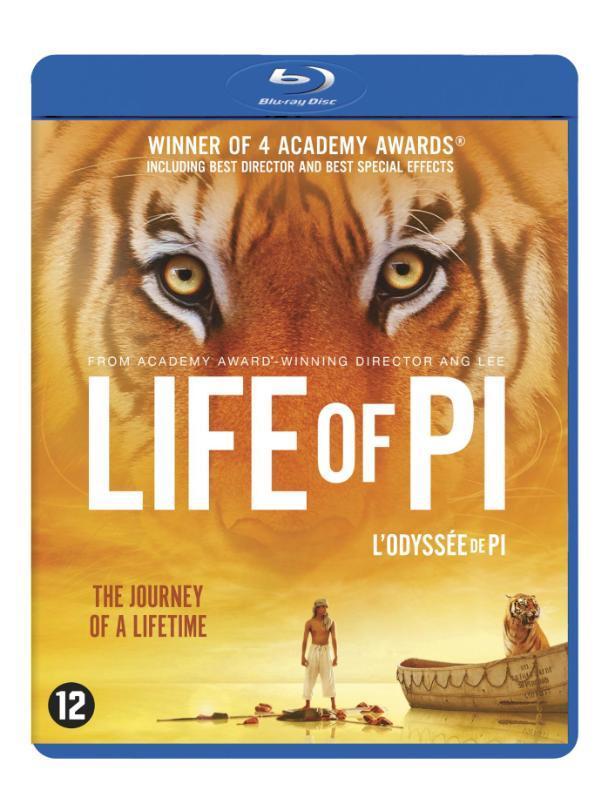 Life of Pi, (Blu-Ray) Martel, Yann, Blu-Ray