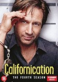 CALIFORNICATION SEASON 4 PAL/REGION 2-BILINGUAL TV SERIES, DVD