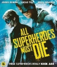 All superheroes must die, (Blu-Ray) ALL REGIONS // W/ JASON TROST, LUCAS TILL, JAMES REMAR MOVIE, BLURAY