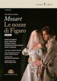 LE NOZZE DI FIGARO, MOZART, WOLFGANG AMADEUS, PAPPANO, A. A.PAPPANO/ THE ROYAL OPERA MOZART/PAL/ALL REGIONS DVD, W.A. MOZART, DVDNL