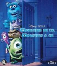 Monsters en co, (Blu-Ray) BILINGUAL /CAST: JOHN GOODMAN, STEVE BUSCEMI ANIMATION, Blu-Ray