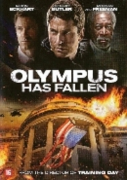 Olympus has fallen, (DVD) CAST: GERARD BUTLER, AARON ECKHART MOVIE, DVD