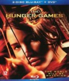 Hunger games, (Blu-Ray) BILINGUAL /CAST: JENNIFER LAWRENCE, JOSH HUTCHERSON Collins, Suzanne, BLURAY