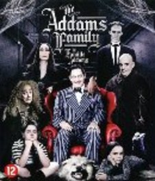 Addams family, (Blu-Ray) BILINGUAL /CAST: ANJELICA HUSTON, RAUL JULIA MOVIE, Blu-Ray