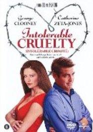 Intolerable cruelty, (DVD) BILINGUAL /CAST: GEORGE CLOONEY, CATHERINE ZETA-JONES MOVIE, DVDNL