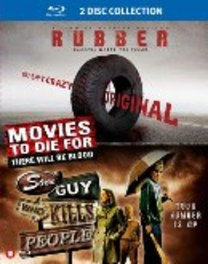 Rubber/Some guy who kills people, (Blu-Ray) .. KILLS PEOPLE MOVIE, Blu-Ray