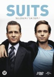 Suits - Seizoen 1, (DVD) BILINGUAL /CAST: PATRICK J. ADAMS, GABRIEL MACHT TV SERIES, DVD