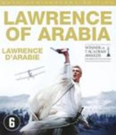 Lawrence of arabia, (Blu-Ray) BILINGUAL/ W/ PETER O'TOOLE,ALEC GUINNESS,ANTHONY QUINN MOVIE, BLURAY