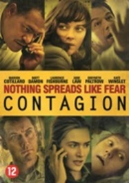 Contagion, (DVD) PAL/REGION 2-BILINGUAL/ W/MAT DAMON,KATE WINSLET MOVIE, DVD