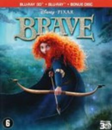 Brave 3D, (Blu-Ray) 2D +3D // VOICES KELLY MACDONALD, BILLY CONNOLLY ANIMATION, Blu-Ray