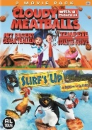 Cloudy with a chance of meatballs/Surfs up, (DVD) ANIMATION, DVDNL