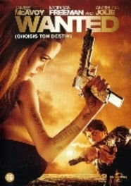 Wanted, (DVD) BILINGUAL W/MORGAN FREEMAN, ANGELINA JOLIE MOVIE, DVDNL