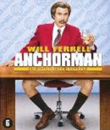 Anchorman, (Blu-Ray) BILINGUAL // W/ WILL FERRELL MOVIE, Blu-Ray
