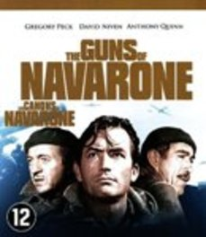 Guns of navarone, (Blu-Ray) BILINGUAL // W/ GREGORY PECK, DAVID NIVEN MOVIE, BLURAY