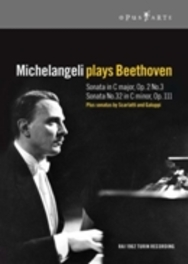 Michelangeli Plays Beethoven/Sonata