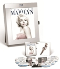 Marilyn 50th anniversary box, (Blu-Ray) PICTURE FRAME-BOX SET/INCL.7 MOVIES/3 FOTO CARDS MOVIE, BLURAY