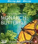 Monarch butterfly (2D+3D),...