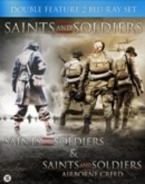 Saints and soldiers 1 & 2, (Blu-Ray) CAST: ALEXANDER NIVER, CORBIN ALLRED MOVIE, Blu-Ray