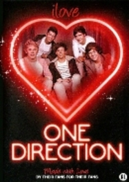 One Direction - I love One Direction, (DVD) PAL/REGION 2 // DOCUMENTARY/BY THEIR FANS AND FOR FANS ONE DIRECTION, DVD