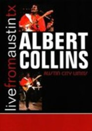 LIVE FROM AUSTIN TEXAS.. .. 1991// FT. FROSTY & TRAVELIN'SOUTH ALBERT COLLINS, DVD