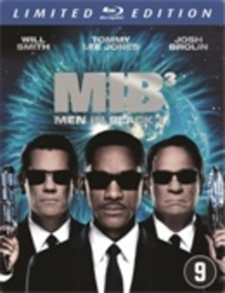 Men in black 3, (Blu-Ray) BILINGUAL-STEELBOOK // W/ WILL SMITH, TOMMY LEE JONES MOVIE, BLURAY
