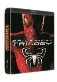 Spider-man trilogy, (Blu-Ray) STEELCASE/ALL REGIONS-BILINGUAL // W/ TOBEY MAGUIRE MOVIE, Blu-Ray