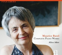 COMPLETE PIANO WORKS ALICE ADER M. RAVEL, CD