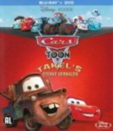 Cars toon - Takel's sterke verhalen, (Blu-Ray) CAST: KEITH FERGUSON, LINDSEY COLLINS ANIMATION, BLURAY