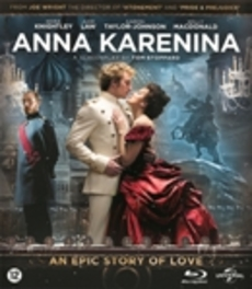 Anna Karenina, (Blu-Ray) BILINGUAL /CAST: KEIRA KNIGHTLEY, JUDE LAW Tolstoj, Lev N., Blu-Ray