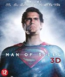 MAN OF STEEL -3D- BILINGUAL // 3D+2D // W/ HENRY CAVILL, AMY ADAMS MOVIE, Blu-Ray