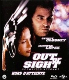 Out of sight, (Blu-Ray) BILINGUAL // W/ GEORGE CLOONEY, JENNIFER LOPEZ MOVIE, Blu-Ray