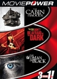 Moviepower box 4, (DVD) WOMAN IN BLACK|DON'T BE AFRAID OF THE DARK|CABIN IN THE
