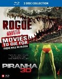Rogue/Piranha 3D, (Blu-Ray) REMAKE OF 1978 'PIRANHA' MOVIE