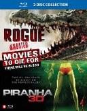Rogue/Piranha (3D), (Blu-Ray)