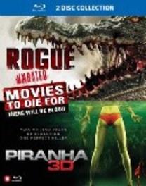 Rogue/Piranha 3D, (Blu-Ray) REMAKE OF 1978 'PIRANHA' MOVIE MOVIE, BLURAY