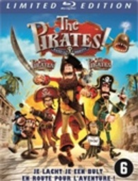 Pirates - Band of misfits, (Blu-Ray) BILINGUAL-STEELBOOK // OR.VOICES HUGH GRANT,SALMA HAYEK ANIMATION, Blu-Ray
