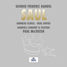 SAUL /PAUL MCCREESH Audio CD, G.F. HANDEL, CD