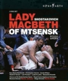 LADY MACBETH OF MTSENSK, SHOSTAKOVICH, JANSONS, M. MARIS JANSONS Blu-Ray, D. SHOSTAKOVICH, Blu-Ray